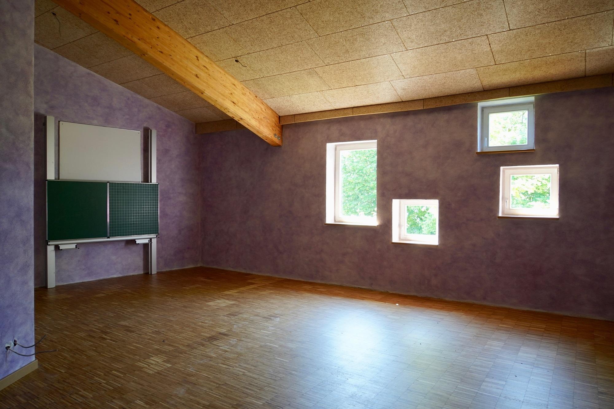 Umbau Saal Klassenz