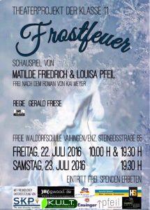 Plakat 'Frostfeuer'